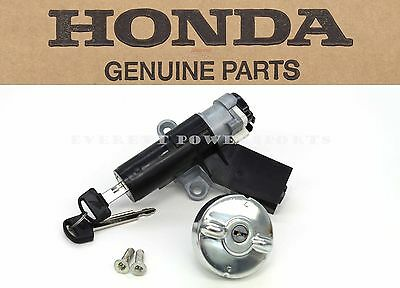 Genuine Honda Ignition Keys Switch Cap Lock Set 02-05 CHF50 Metropolitan #G91