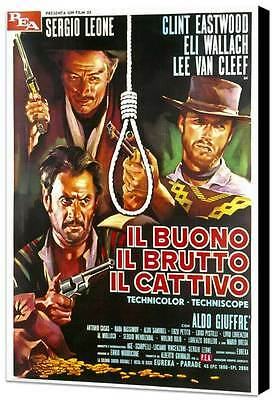 """Clint Eastwood  """"The Good The Bad and The Ugly"""" Foriegn - 27"""" x 40"""" Movie Poster"""