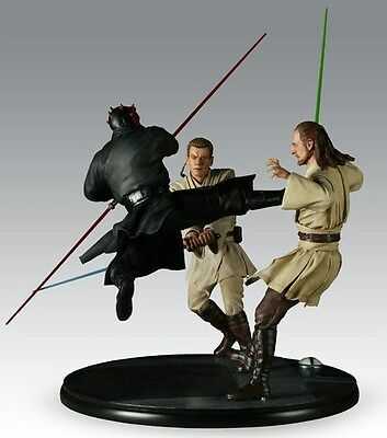 Star Wars The Phantom Menace Duel Of The Fates Sideshow