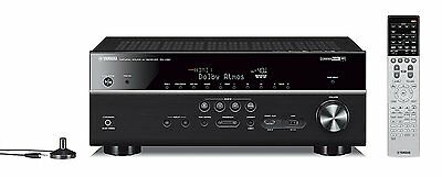 Yamaha RXV681 MusicCast 7 Channel AV Reciever - Home Theatre Dolby Atmos Wifi 4k