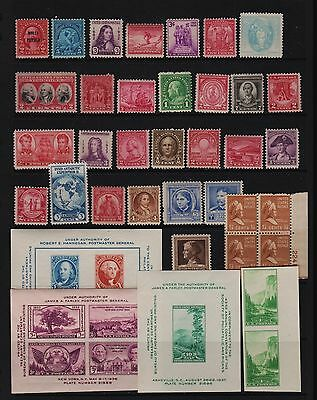 U.S. 51 old Mint, NH stamps - Value group - see scan !