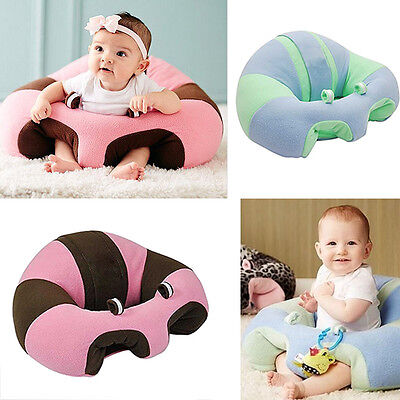 Portable Baby Kids Dining Chair Nursing Pillow Cuddle Seat Infant Safety Cushion
