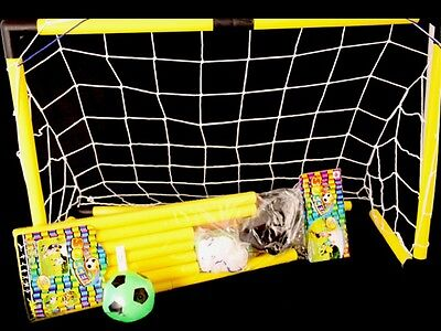 Soccer ball  Goal and net set WITH PUMP UP BALL  FAST FREE SHIPPING