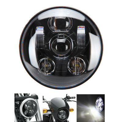 5-3/4'' Daymaker Projector LED Headlight Light For Harley Dyna Softail Sportster