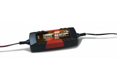 OPTIMISER BATTERY CHARGER CLASSIC CAR CAMPER VAN 4A amp CARAVAN MOTORHOME 6v 12v