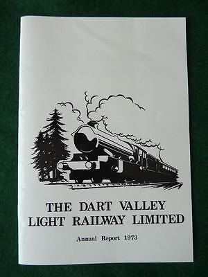 The Dart Valley Light Railway Limited Annual Report 1973