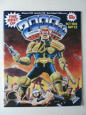 The Best Of 2000AD Featuring Judge Dredd Monthly No 13 1986 VGC