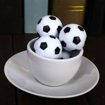 4x 36mm Indoor Soccer Table Foosball Replacement Ball Football Fussball Supplies