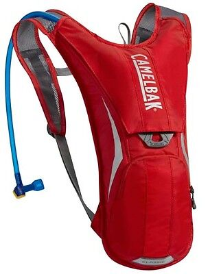 Camelbak Classic Hydration Pack Backpack Rucksack 2L MTB Bicycle Cycle Red