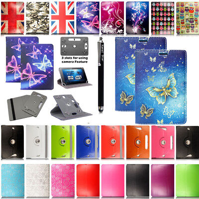 """Universal Folio PU Case Cover Stand For 7'' 8'' 9"""" 9.7'' 10.1"""" Android Tablet PC"""