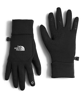 The North Face Women's black ETIP Touch Screen Gloves XS M L