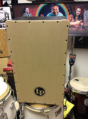 LP cajon latin percussion FULL SIZE make your own $99 special AMAZING BASS-FEEL