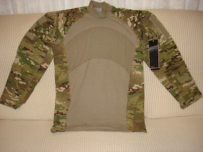 Usgi Multicam Army Combat Shirt Medium Nwt Massif