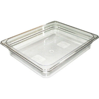 "Clear Food Pan, Full Size (12-3/4"" x 20-7/8"") Size 6"""