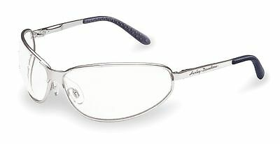 Harley-Davidson HD501 Motorcycle Clear Lens Safety Indoor/Outdoor Glasses