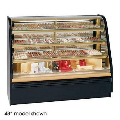 "Federal - FCC-6 - 72"" Non-Refrigerated Chocolate/Candy Display Case"