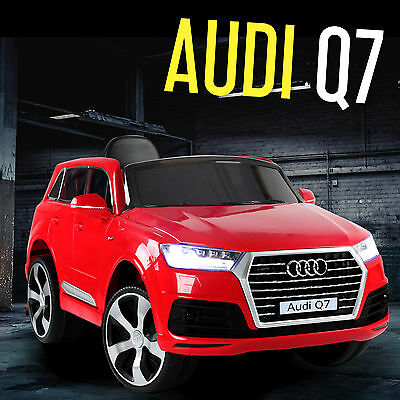 2017 AUDI Q7 Kids Ride On Car Jeep 4x4 & LED Lights 12V Battery Remote Licensed