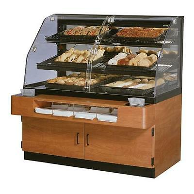 "Federal - BPFD-54SS - 54"" x 56"" Non-Refrigerated Self-Serve Floor Display Case"