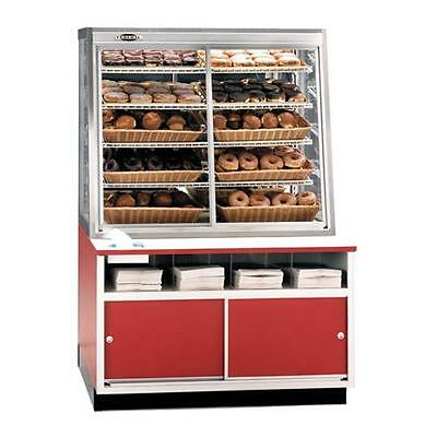 "Federal - WDC-42 - 42"" x 62"" Non-Refrigerated Self-Serve Wall Display Case"