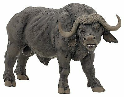 AFRICAN BUFFALO  Replica # 50114 ~ FREE SHIP/USA w/ $25.+ Papo Products