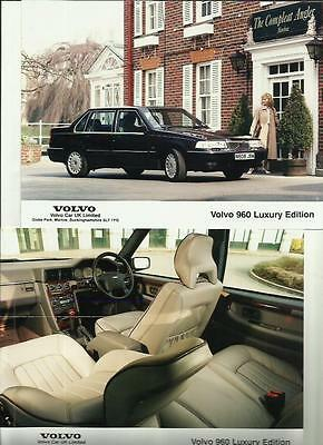Volvo 960 Luxury Edition Original Press Photo, 'brochure' Connected 2 Of