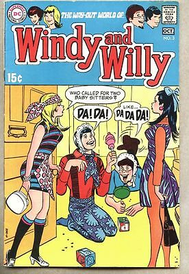 Windy And Willy #3-1969 fn Bob Oksner / DC