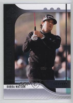 2012 SP Authentic #81 Bubba Watson /999 Golf Card 5l4