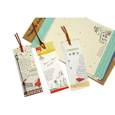 K183 New Hot Sale 0.042 Kg Cute Cartoon Lazy Stationery And 3Pcs x Bookmarks Set