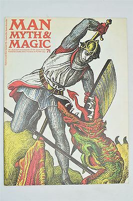 Man Myth & Magic Magazine #71 1971 Vintage UK Illustrated Supernatural