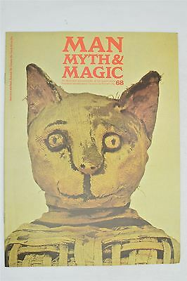 Man Myth & Magic Magazine #68 1971 Vintage UK Illustrated Supernatural