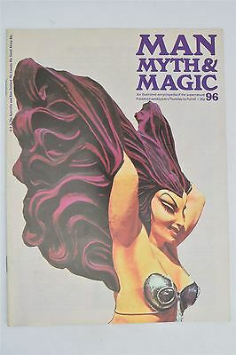 Man Myth & Magic Magazine #96 1971 Vintage UK Illustrated Supernatural