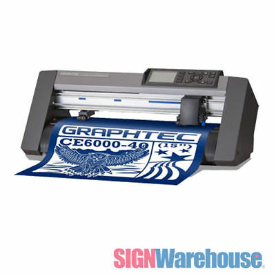 "15"" Graphtec CE6000-40 Desktop Vinyl Cutter Plotter Supply Kit for Decals Signs"