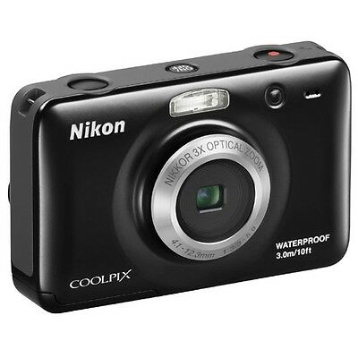 Nikon COOLPIX S30 10.1 MP Digital Camera - Black