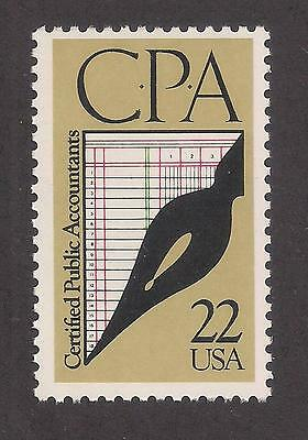 Certified Public Accountants - Cpa - U.s. Postage Stamp - Mint Condition