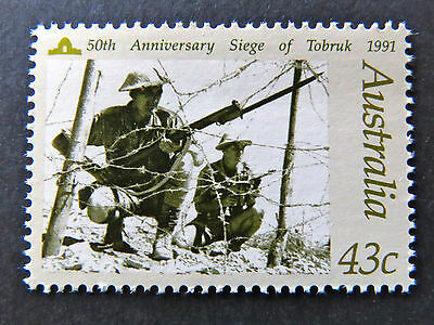 Australian Decimal Stamps:1991 In Memory of Those Who Served - Single 43c MNH