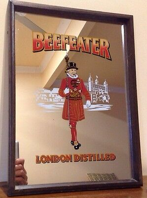 Vintage Mirror-Beefeater Gin