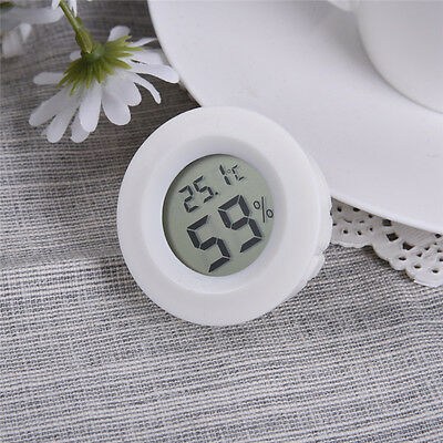 New LCD Digital Thermometer Hygrometer Temperature Humidity Meter Outdoor Indoor