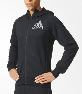 adidas Prime Mens Hooded Top - Black