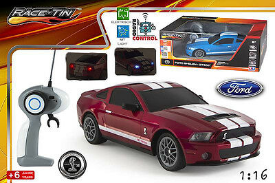 RC Ferngesteuertes Auto CAR - FORD MUSTANG SHELBY - in 2 Farben erhältlich