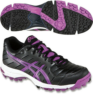 Asics Gel Neo 3 Ladies Hockey Shoes - Black