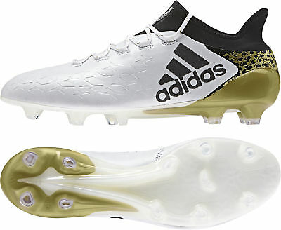 adidas X 16.1 Firm Ground / AG  Mens Football Boots - White