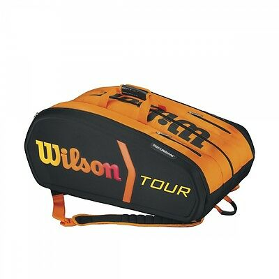Wilson Burn 15 er Bag orange Tennistasche UVP 109,95€ NEU