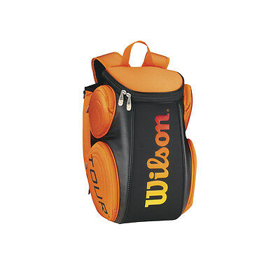 Wilson Burn Molded Large Backpack orange UVP 69,95€ NEU