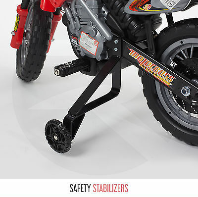 Kids Ride On Motocross Scrambler Motorbike Electric 6V Battery Operated Bike
