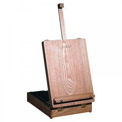 Table Easel with integrated wooden box Medway Easel by Winsor and Newton