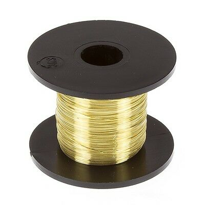 Gold Plated Copper Wire for Jewellery Making 0.20mm - 175m (C70/4)