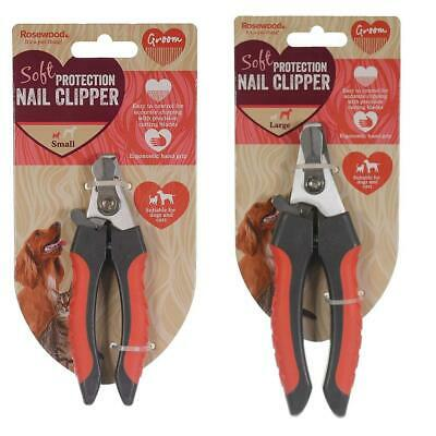 Rosewood Nail Clippers for Dogs and Cats Soft Protection Pet Nail Grooming Tools