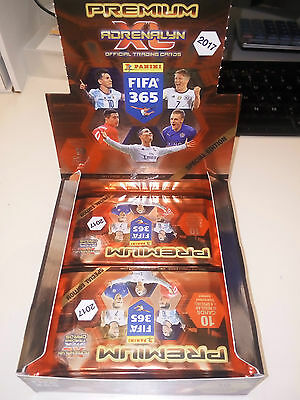 Fifa 365 Adrenalyn Xl 2017 Premium Pack Panini With Special Gold Limited Edition