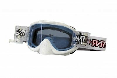 RNR Hybrid Racer Pack - Brille incl. Rip N Roll Roll Off System - weiß