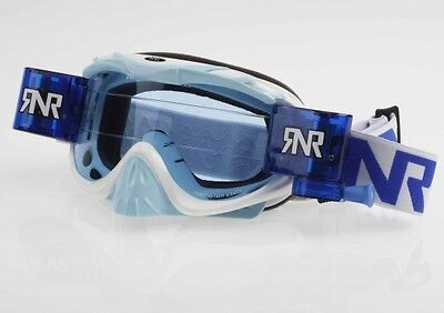 RNR Hybrid Racer Pack - Brille incl. Rip N Roll Roll Off System - pacific blau